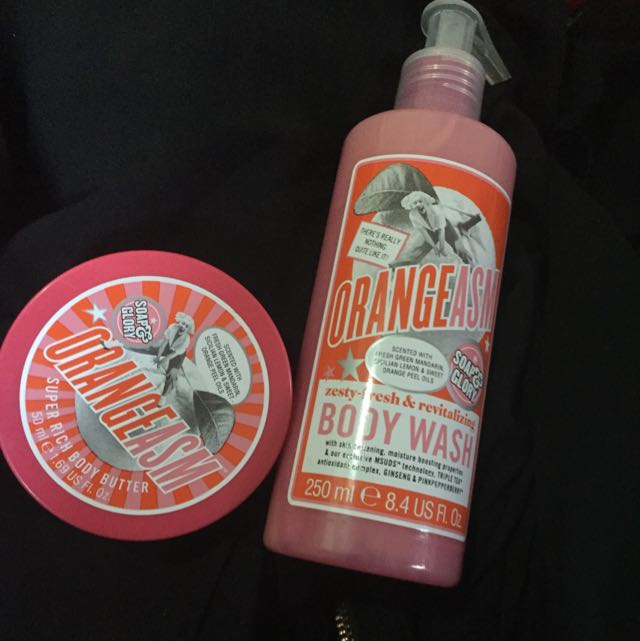 Soap&Glory Body Butter And Shower Gel