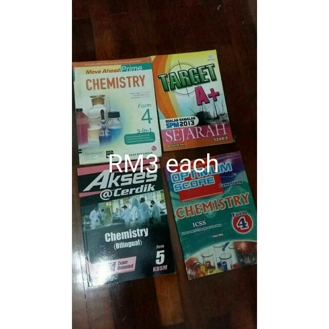 SPM Exercise Books