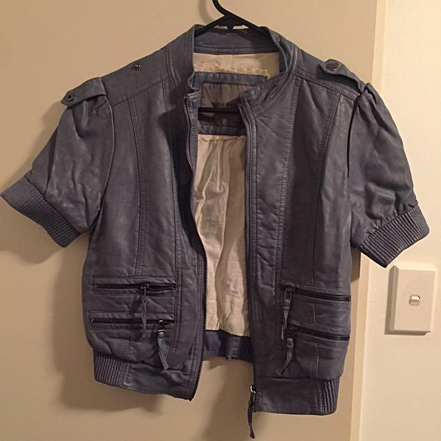 Super cute blue/grey Zara jacket