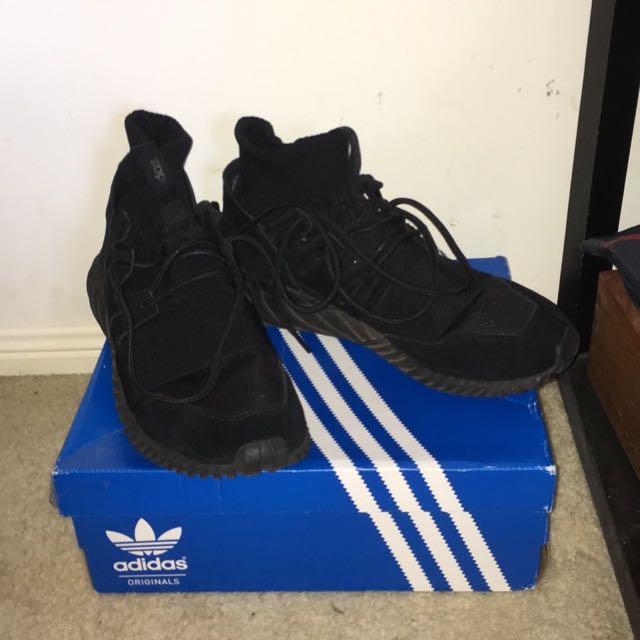 Triple Black X Tubular Doom Adidas