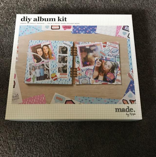 Typo DIY album Kit