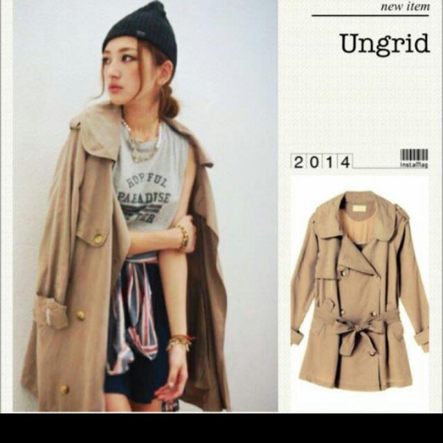 Ungrid 簡約風衣