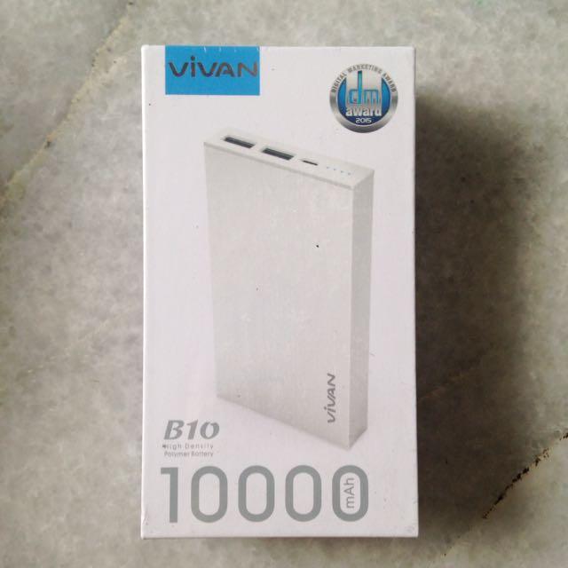 [Vivan] B10 Powerbank 10000 mAh