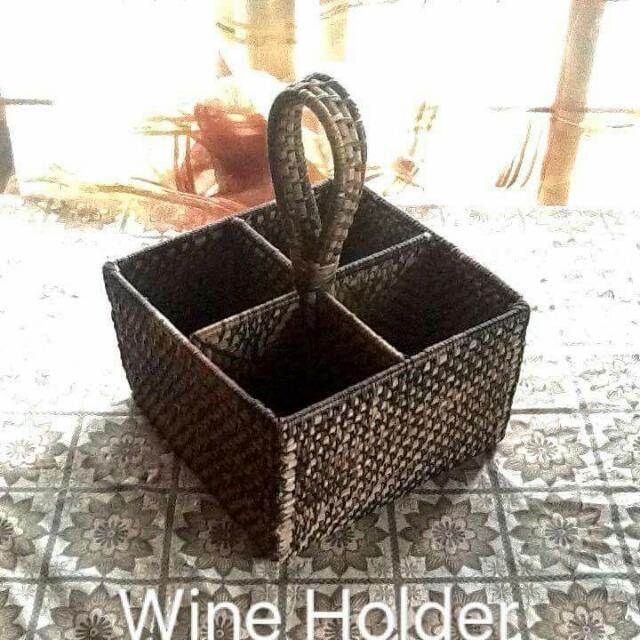 Wine Holder, Book Organizer.