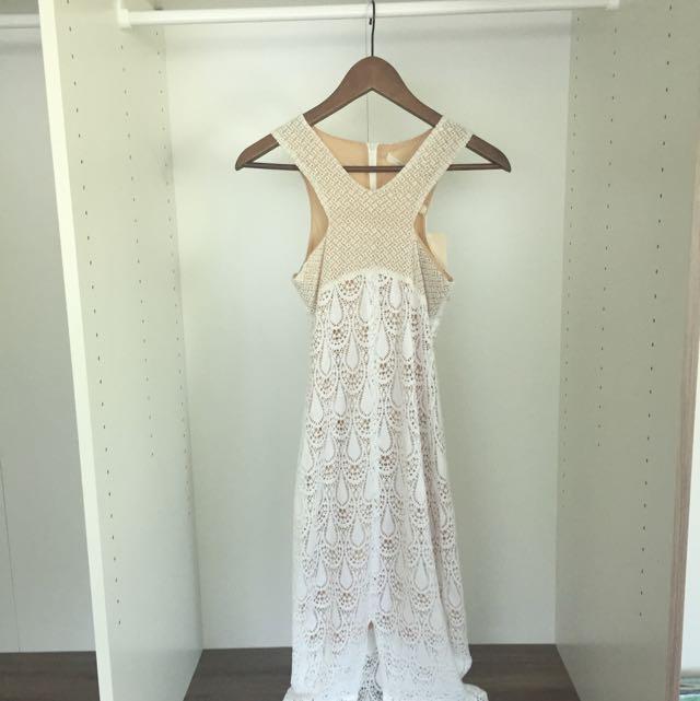 Winona Dress Maxi Lace Size 6