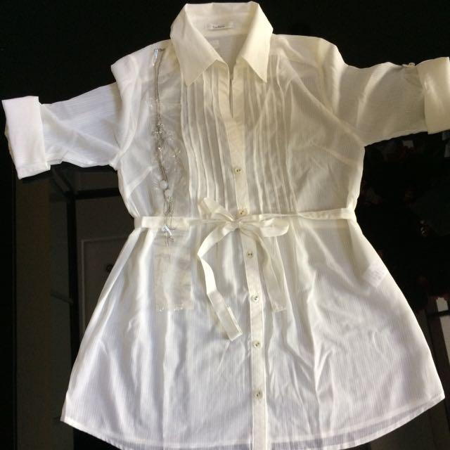 Woman White Shirt