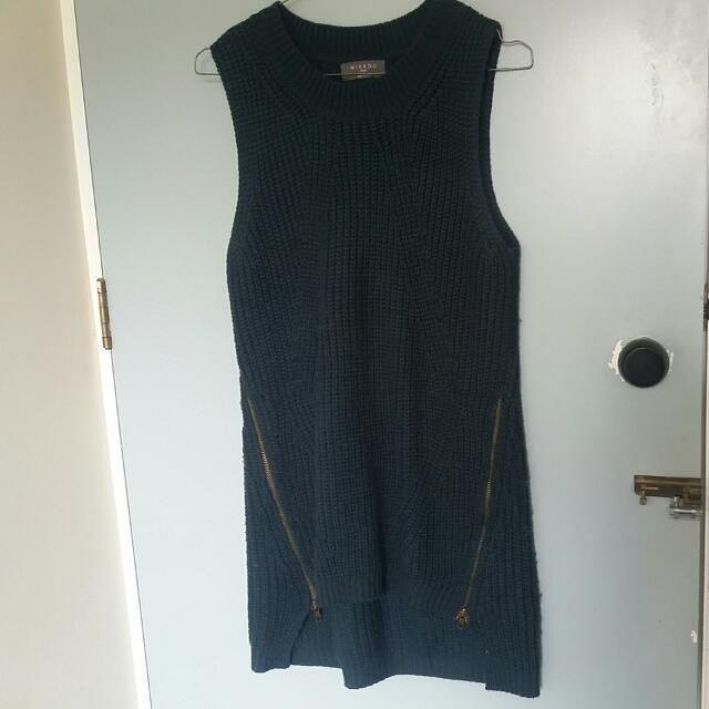 Dark green Mirrou Woolen Vest
