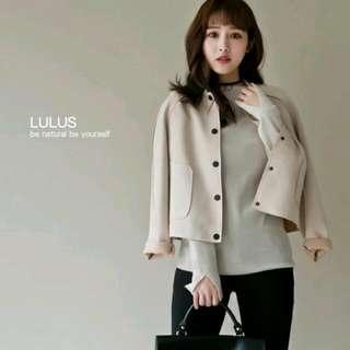 Lulus氣質麂皮外套