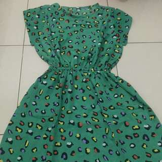 Dress Leopard Ijo