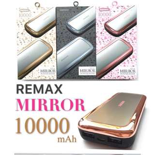 ORIGINAL REMAX MIRROR 10000mah POWER BANK