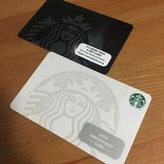 *Special Singapore Starbucks Siren Card Set
