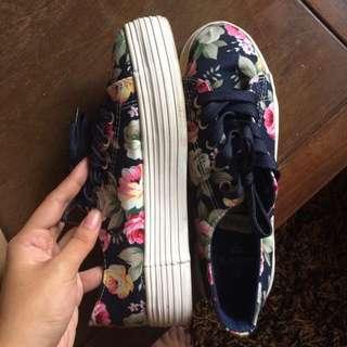 Human Floral Shoes
