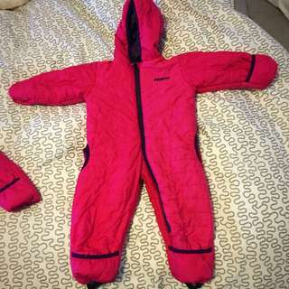 Baby Girl Snow Suit GUSTI 18-24 Months
