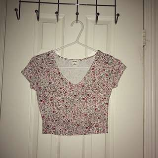 Floral Crop Top- Garage