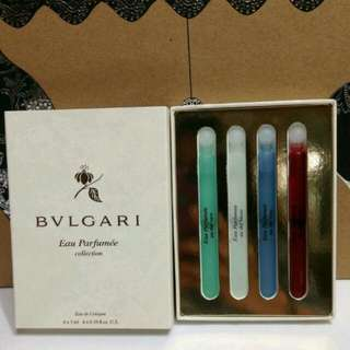 Bvlgari Perfume Mini Gift Set $5 Firm Free With Min. $20 Purchase