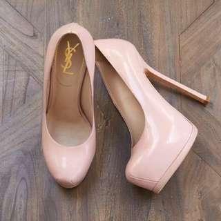Pink YSL Heels
