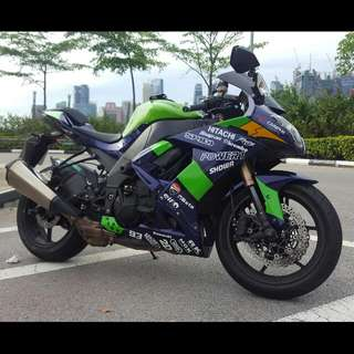 Kawasaki Zx10r '08 ( SLIGHTNEGO)