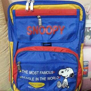 SNOOPY SCHOOL BAG