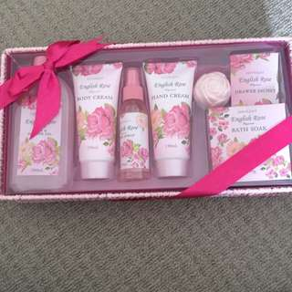 Beindulged English Rose Fragranced Products