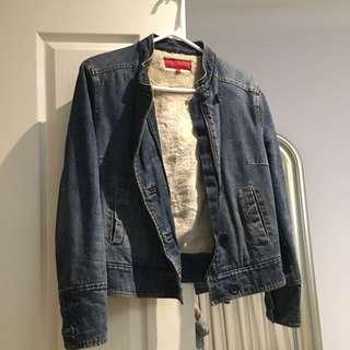 Fcuk Denim Jacket Size S