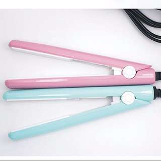 Mini Hair Straightener (IN STOCK-pink)