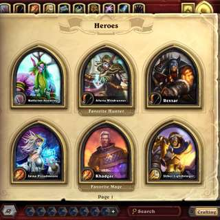 Hearthstone NA Account