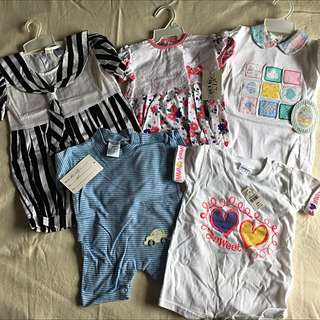 BNWT/WOT Baby Rompers quick sale!