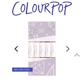 Colourpop Mini Lippie Togo