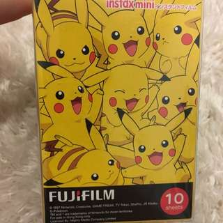 Instax Mini Fujifilm Pokemon Design