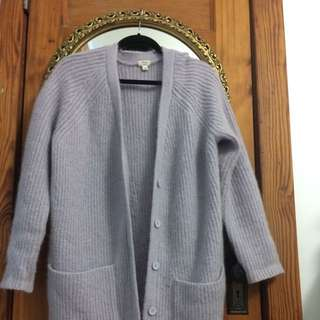 WILFRED WOOL KNITTED CARDIGAN