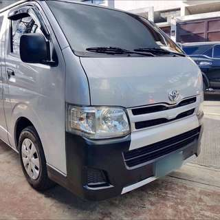 2013 Toyota hiace commuter silver manual Manual Transmission
