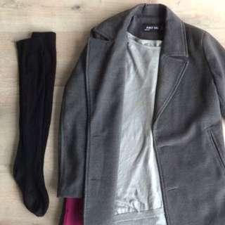 Excellent Grey Coat