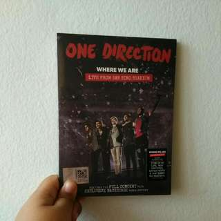 Original One Direction Where We Are Live From San Siro Stadium Dvd