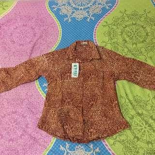 Kemeja Batik / Blouse Batik / Batik / Baju Batik