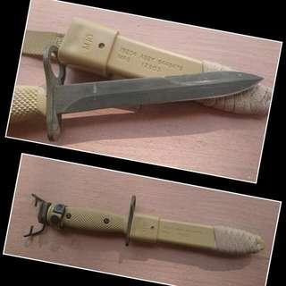 US Army M10 Bayonet 美軍 M10 沙色 軍刀
