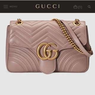 Gucci GG Marmount Shoulder Bag
