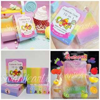Fruitamin 10 in 1 Whitening Soap