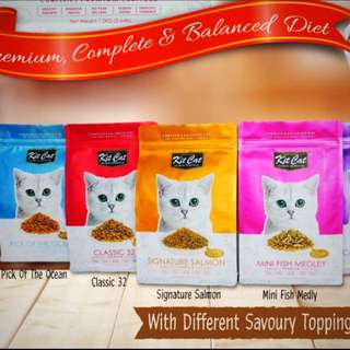 Kit Cat Dry Food 5kg and 15kg