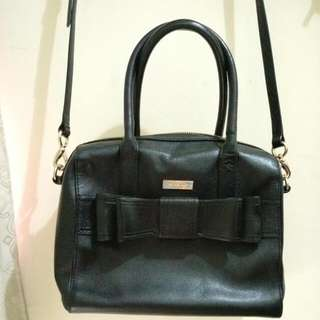 Kate Spade Leather Ribbon Bag真皮蝴蝶袋