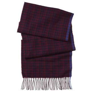 COACH Cashmere Micro Tattersall Scarf F85306C2D