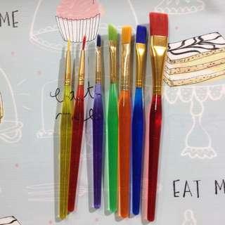 Colored Brush Set
