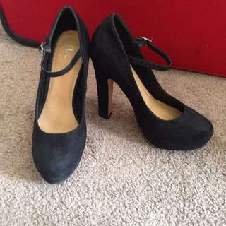 Black Size 37 High Heels (Rubi Shoe)