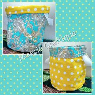 Handmade Fabric Basket