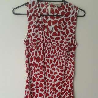 YSL Print Dress