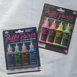 Puffy Paints Glitter & Neon (2 Packs)