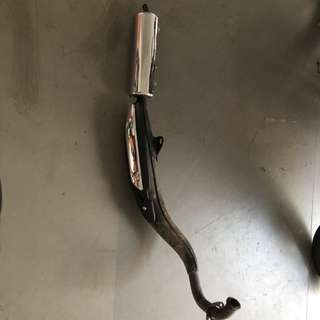 Rxz 5pv Exhaust Pipe