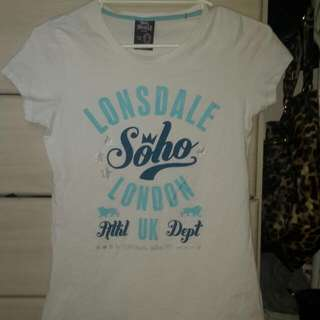 Lonsdale Tshirt Size 12 - Never Worn