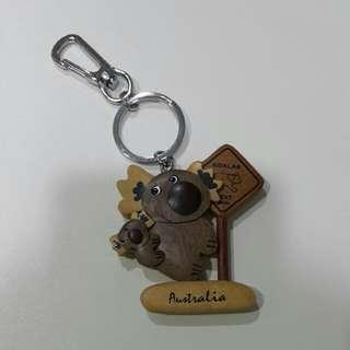 Koala 木質鑰匙圈