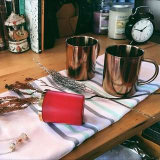<PO> BN Stylish copper stainless steel mug / Copper cup / Rose gold cup