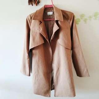 (SOLD) Korean Autumn Trench Coat